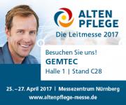 Altenpflege - DieLeitmesse 2017- wir sind dabei!