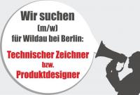 GESUCHT: Technische Zeichner | Technische Produktdesigner (m/w)