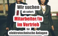 GESUCHT: Mitarbeiter/in Vertrieb