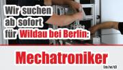 GEMTEC JOB: Mechatroniker (m/w/d) Wildau bei Berlin