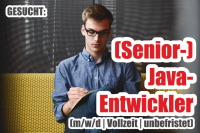 +++ JOB: (Senior-) Java- Entwickler +++