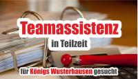 JOB: Teamassistenz für Königs Wusterhausen