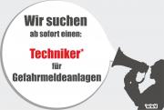 +++ JOB: Techniker für Gefahrmeldeanlagen +++