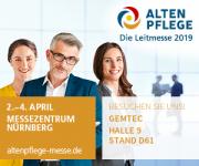 Save the date- Nur noch 8 Wochen bis zur Altenpflege- Messe in Nürnberg!