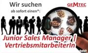 Jobangebot: Junior Sales Manager   VertriebsmitarbeiterIn