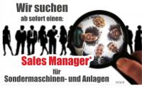 JOB: Sales Manager (m/w/d) Sondermaschinenbau