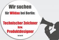 +++ JOB: Technischer Zeichner / Produktdesigner (m/w/d) +++
