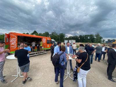 GEMTEC Grundsteinlegung Funkerbrg Technologiepark Königs Wusterhausen 22.07.2021