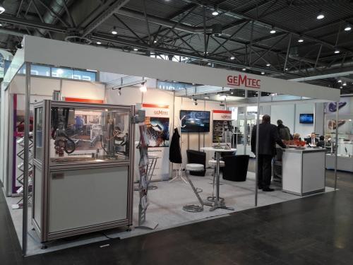 GEMETC Messtand H24 in Halle 3 auf der Intec 2017