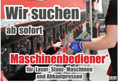 JOB: Maschinenbediener (m/w/d)