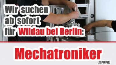 GEMTEC JOB Mechatroniker Wildau bei Berlin