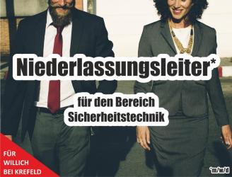 Job Niederlassungsleiter NRW