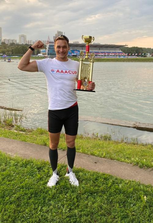 AAA-Cup in Moskau Conrad Scheibner