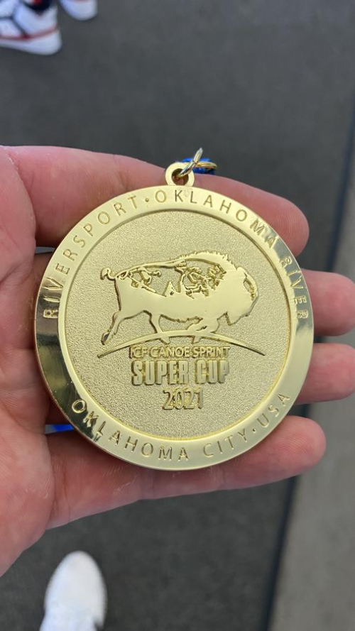 Goldmedaille Conrad Scheibner ICS Oklahoma