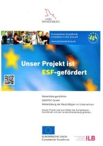 ESF Förderung in Weiterbildung